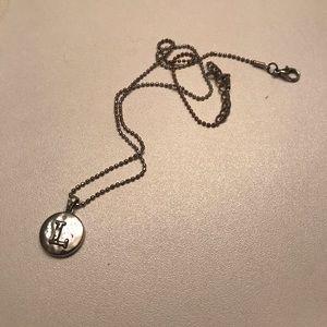 L necklace